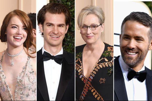 Emma Stone, Andrew Garfield, Meryl Streep et Ryan Reynolds
