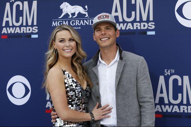 Granger Smith et sa femme Amber Bartlett en avril 2019