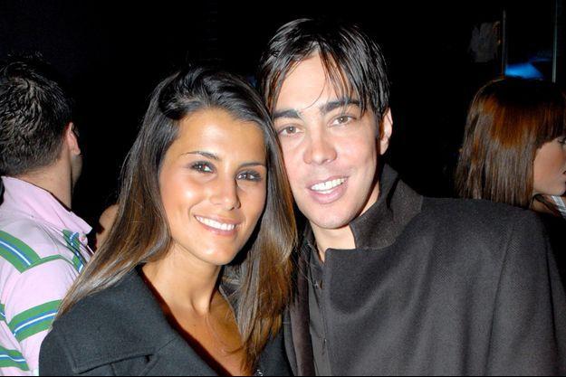 Karine Ferri et Grégory Lemarchal en mars 2007.