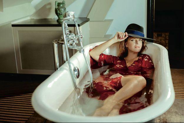 Le 30 janvier à l'Hôtel Particulier Montmartre. « On me laisse une grande liberté pour interpréter Florence Cassandre. Elle me ressemble beaucoup. »