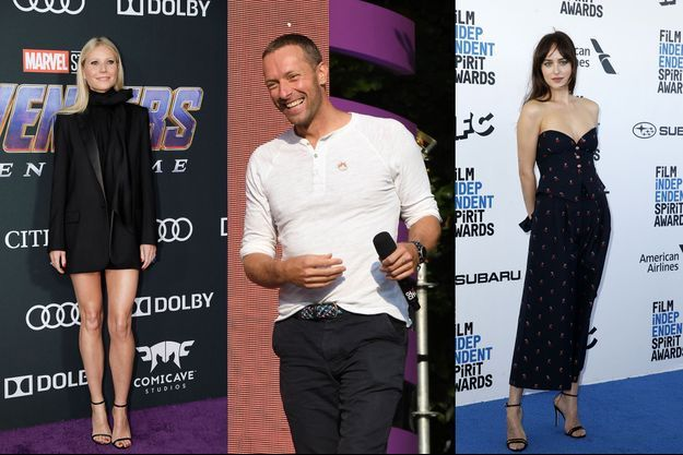 Gwyneth Paltrow, Chris Martin et Dakota Johnson