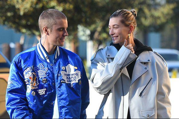 Justin Bieber et Hailey Baldwin à Los Angeles le 3 novembre 2018