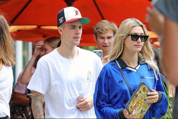 Hailey et Justin Bieber à Los Angeles le 7 août 2019