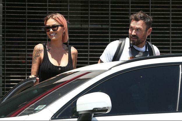 Tina Louise et Brian Austin Green à Los Angeles le 30 juin 2020