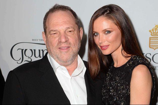 Harvey Weinstein et sa femme Georgina Chapman