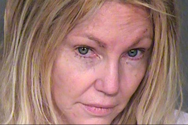 Le mug shot de Heather Locklear après son arrestation pour violences conjugales le 26 février 2018