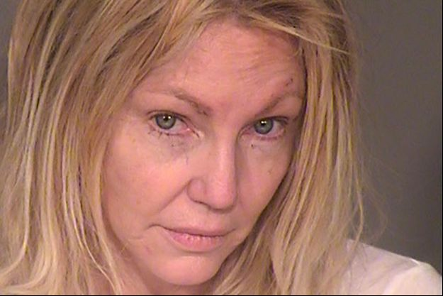 Photo d'Heather Locklear lors de son arrestation le dimanche 25 février 2018