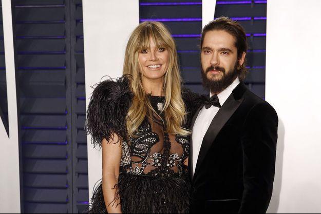 Heidi Klum et Tom Kaulitz à Beverly Hills, le 24 février 2019