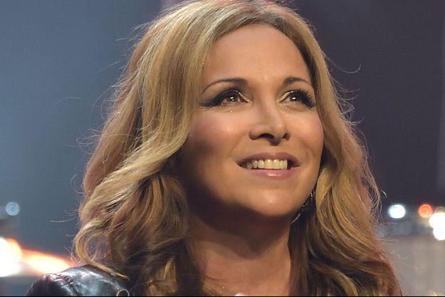 Hélène Ségara en concert à Paris en janvier 2016.