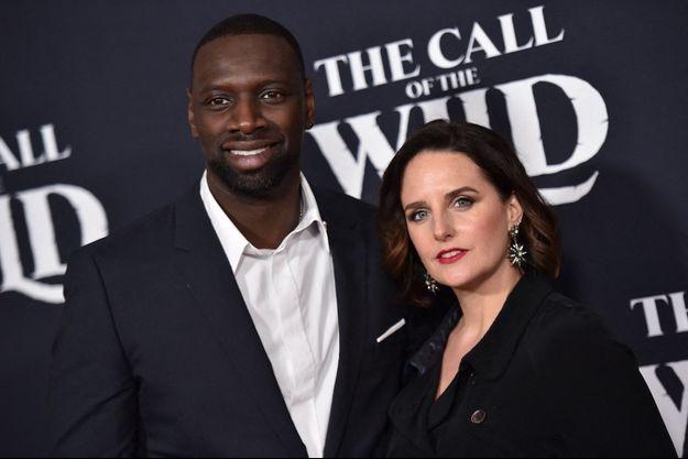 Hélène et Omar Sy à Los Angeles en février 2020.