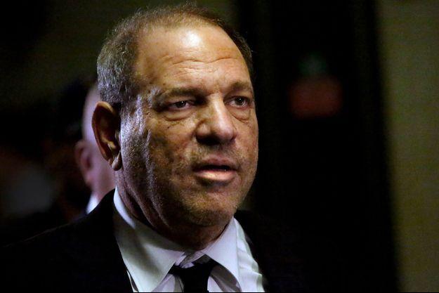 Harvey Weinstein au tribunal de New York.