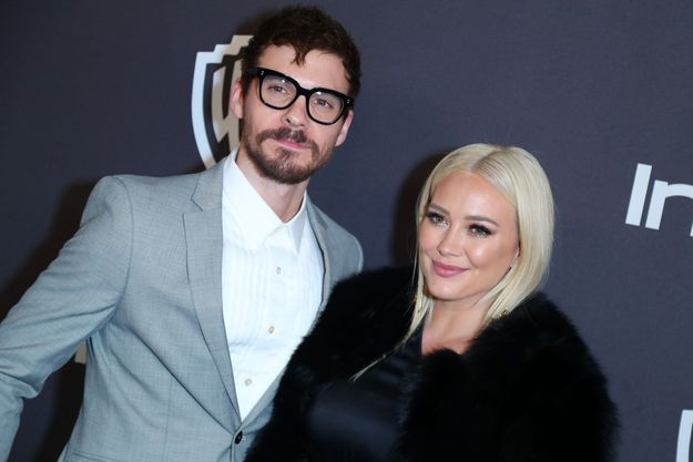 Matthew Koma et Hilary Duff en janvier 2019.