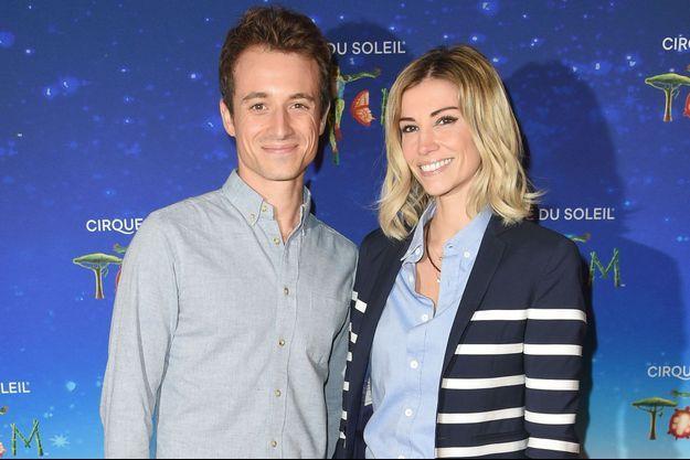 Hugo Clément et Alexandra Rosenfeld, le 30 octobre à Paris.