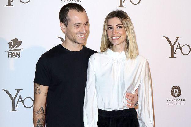 Alexandra Rosenfeld et Hugo Clément à Pairs le 15 janvier 2019.