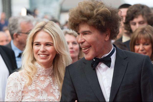 Igor Bogdanov et Julie à Cannes 2017.