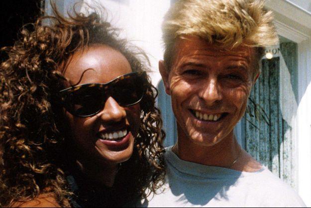 David et Iman Bowie en 1991.