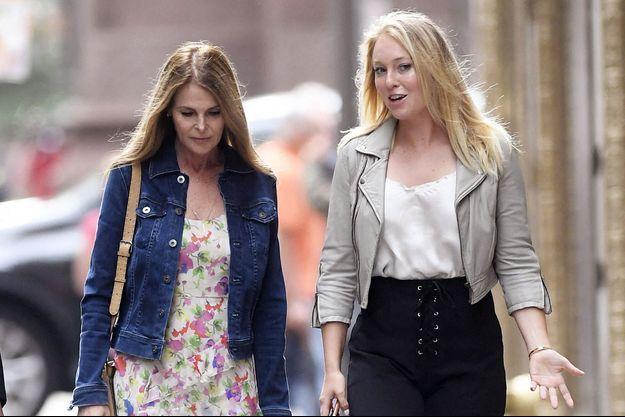Catherine et India Oxenberg à New York en juin 2019