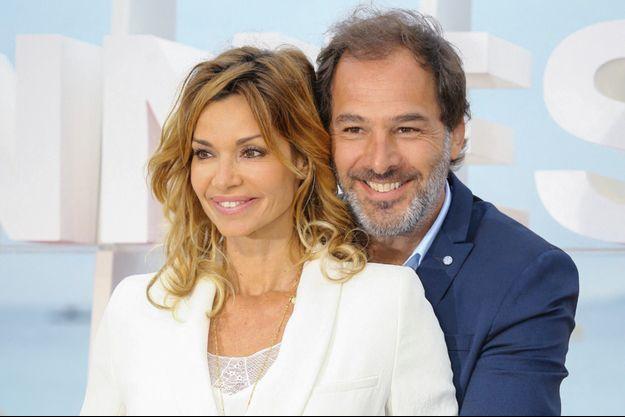 Ingrid Chauvin et Thierry Peythieu en 2018 à Cannes.