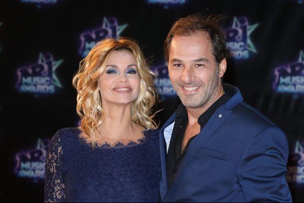 Ingrid Chauvin et Thierry Peythieu à Cannes, le 12 novembre 2016.