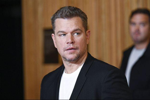Matt Damon à New York le 26 juillet 2021