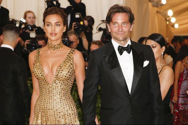 Irina Shayk et Bradley Cooper au Met Gala en 2018.