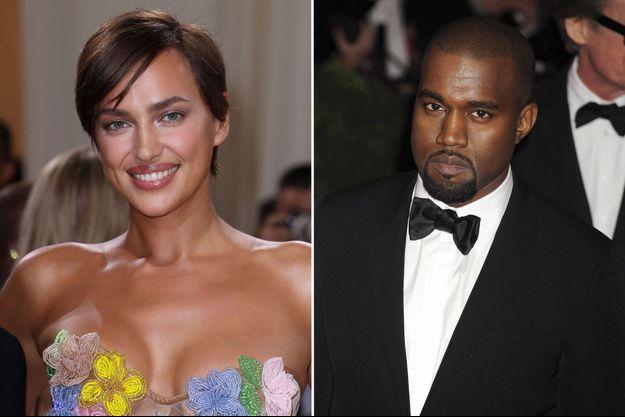 Irina Shayk et Kanye West.