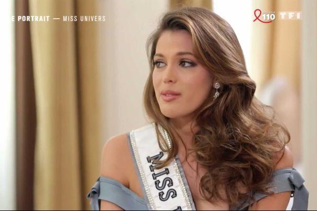 """Iris Mittenaere, dans l'émission """"50' inside"""", diffusée samedi sur TF1."""