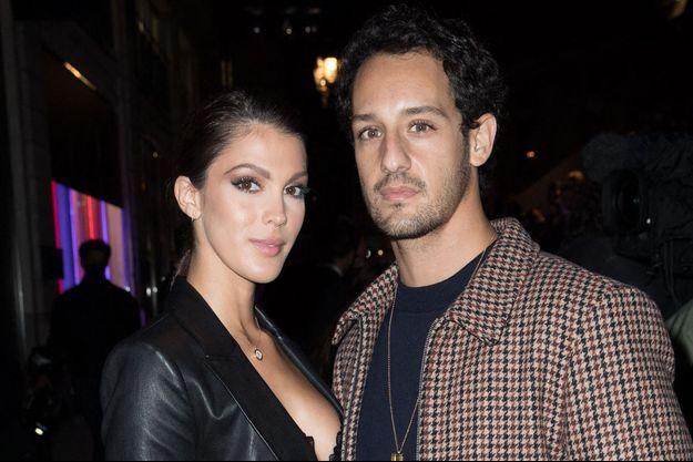 Iris Mittenaere et Diego El Glaoui en septembre 2020