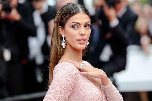 Iris Mittenaere à Cannes, le 22 mai 2019
