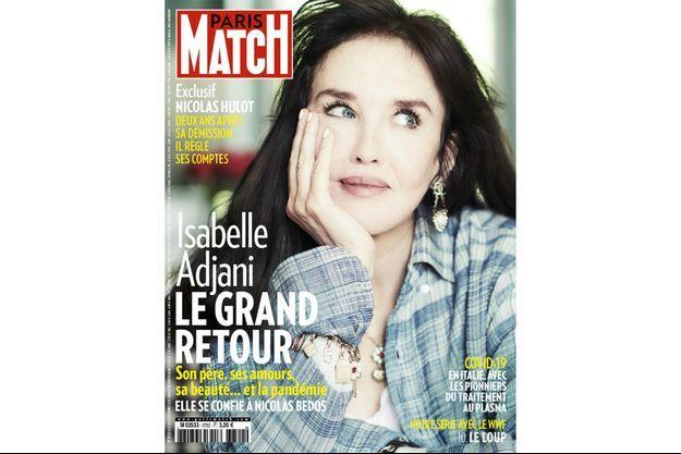 La couverture du numéro 3722 de Paris Match.