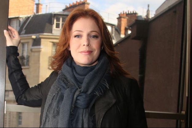 Isabelle Boulay en 2014.
