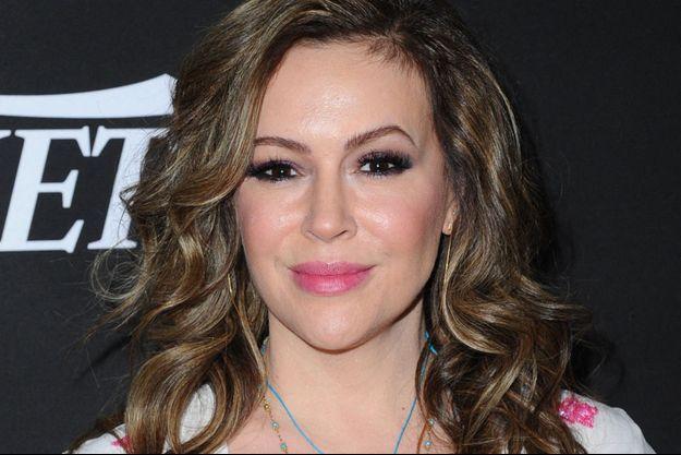 Alyssa Milano en janvier 2020.