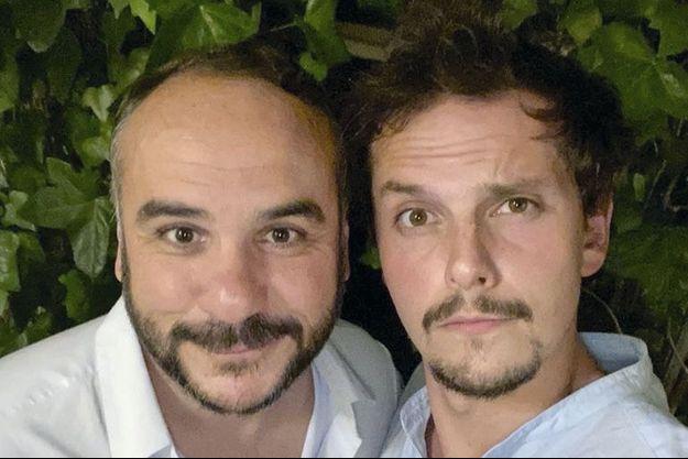 François-Xavier Demaison et Juan Arbelaez