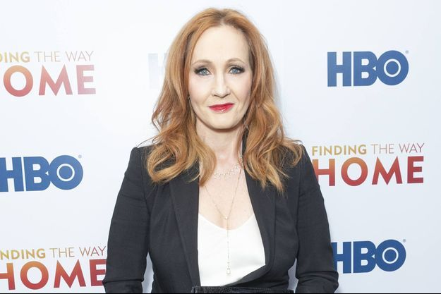 J.K. Rowling en décembre 2019