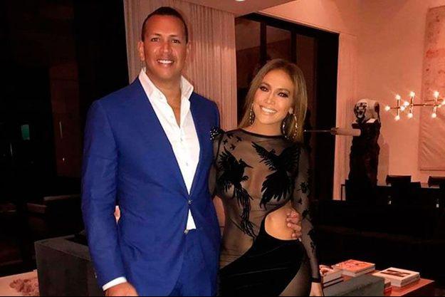 J-Lo et Alex Rodriguez