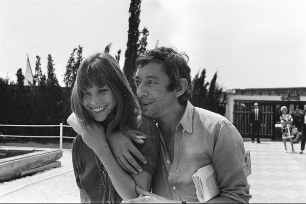 Jane Birkin et Serge Gainsbourg en 1970.
