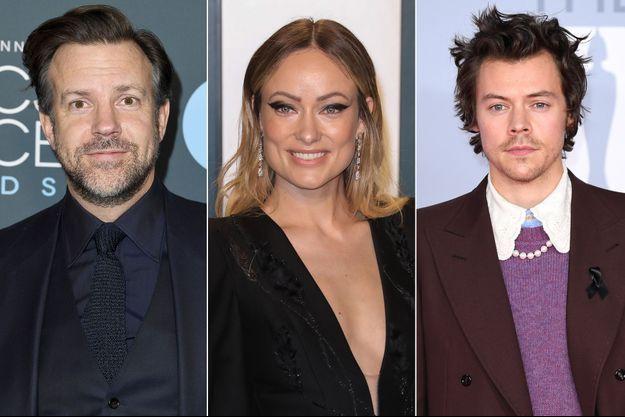 Jason Sudeikis, Olivia Wilde et Harry Styles