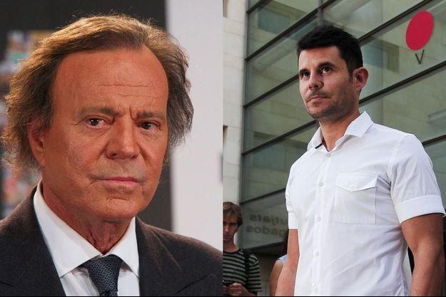 Julio Iglesias et Javier Sanchez-Santos