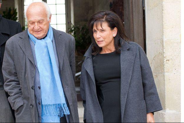 Pierre Nora et Anne Sinclair en 2013.