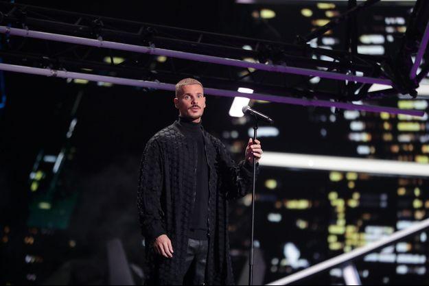 Matt Pokora aux NRJ Music Awards, le 5 décembre.