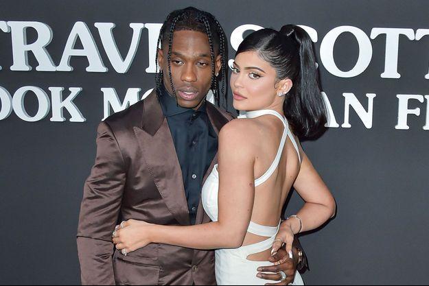 Travis Scott et Kylie Jenner en août 2019