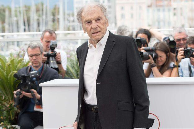 Jean-Louis Trintignant à Cannes, mai 2017.