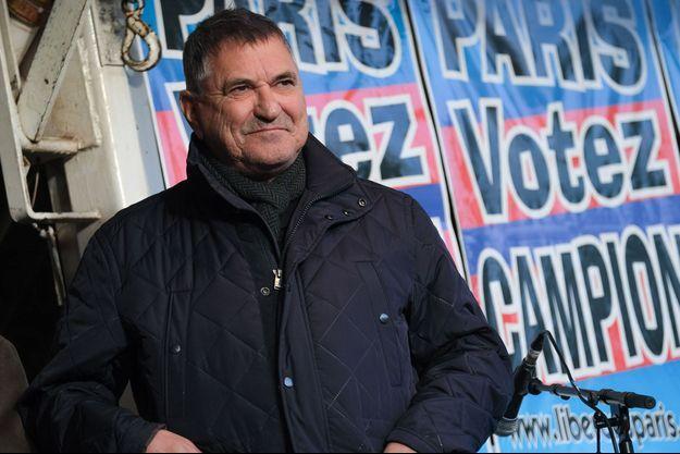 Jean-Marie Bigard, lors de la dernière campagne muncipale à Paris.