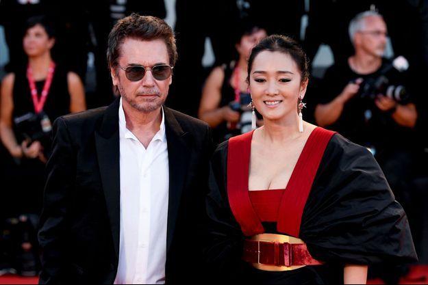 Jean-Michel Jarre et Gong Li au dernier Festival de Venise.