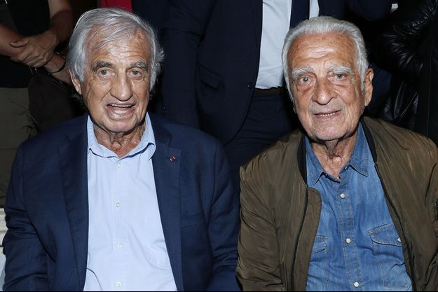 Jean-Paul et Alain Belmondo le 17 juin 2019.