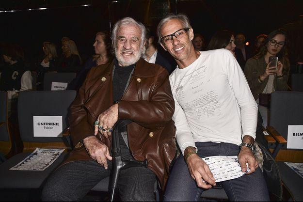 Jean-Paul et Paul Belmondo en 2018