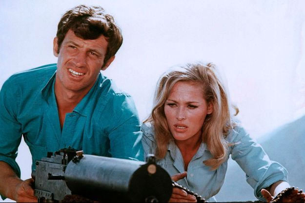 Jean-Paul Belmondo Ursula Andress
