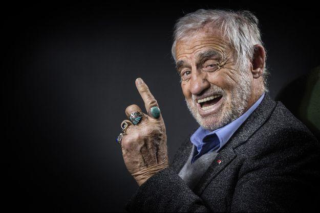 Jean-Paul Belmondo en 2016.