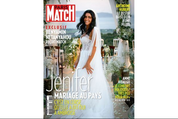 Jenifer en couverture de Paris Match