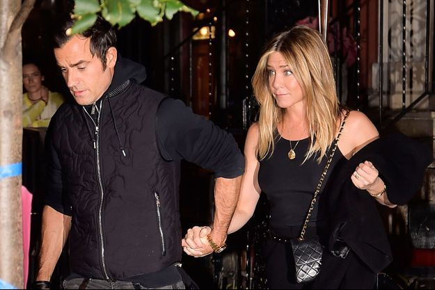 Jennifer Aniston et Justin Theroux à New York